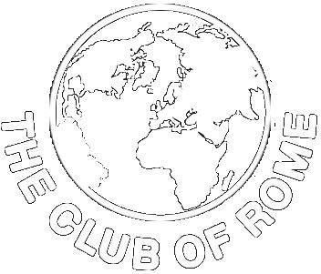 wereldbol ikoon van de club of Rome.